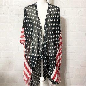Stars and Stripes kimono    E02